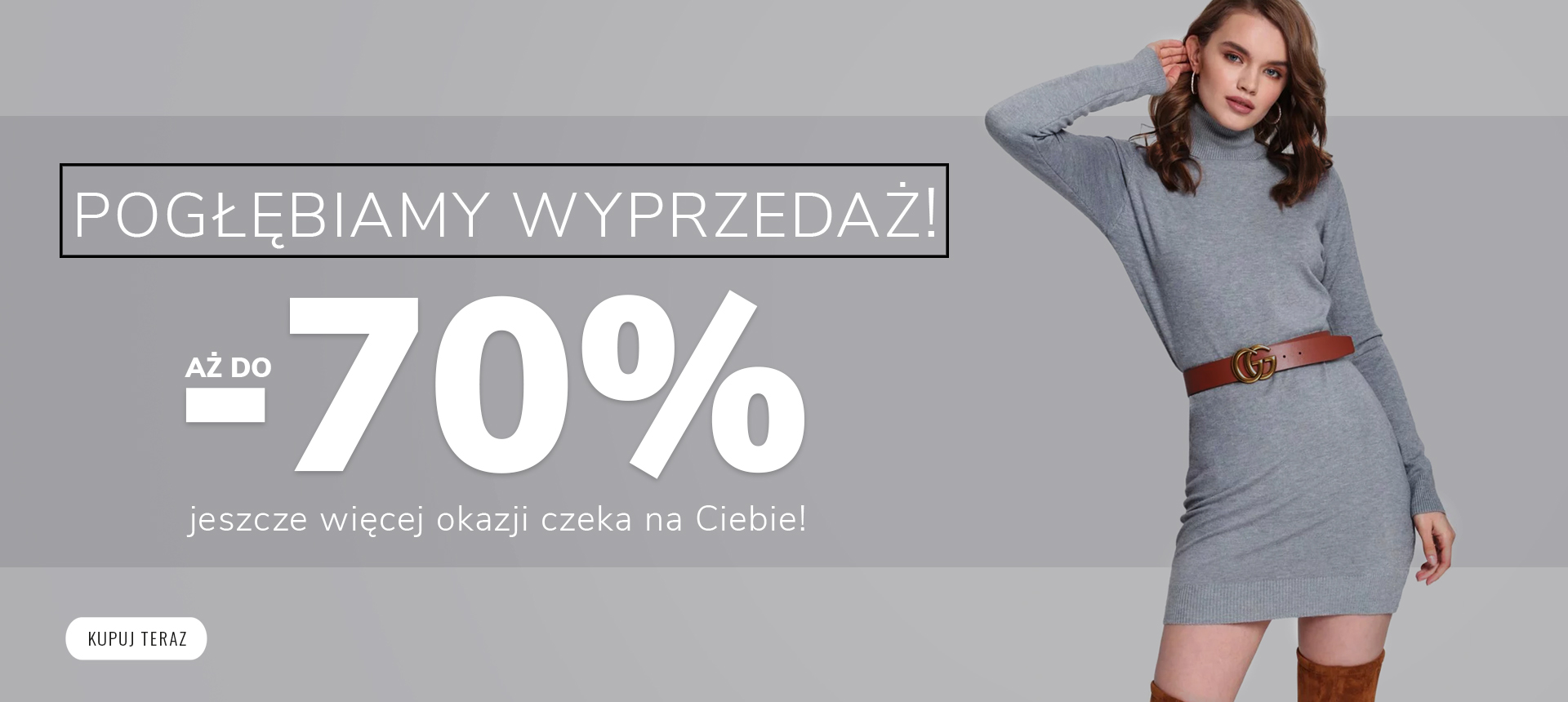 SALE, aż do -70%