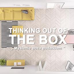 <div>Wychodzimy myśleniem poza pudełko!</div>