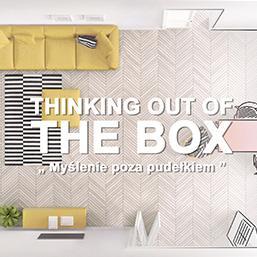 <div>#Wychodzimy myśleniem poza pudełko!</div>