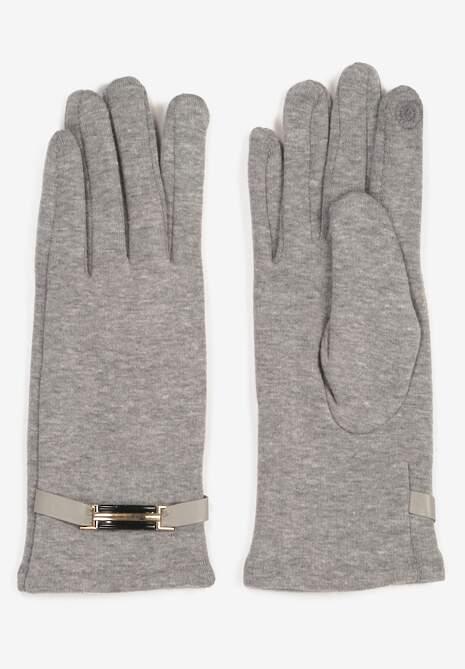 Szare Rękawiczki Calitea