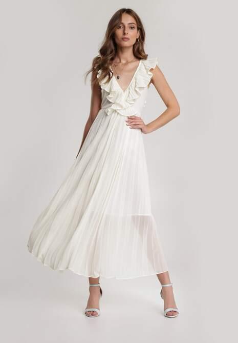 Biała Sukienka Pogoer