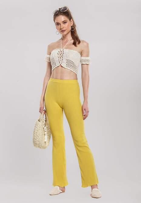 Żółte Spodnie Troublous