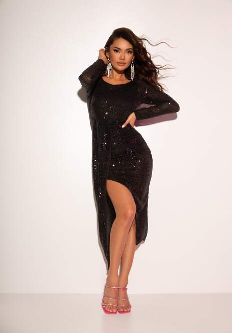 Czarna Sukienka Wilmore