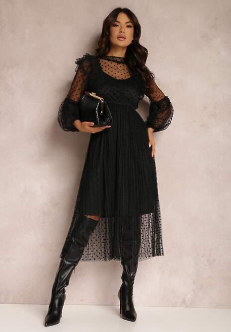 Czarna Sukienka Izzie