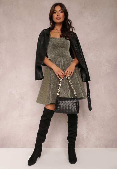 Złota Sukienka Simssi
