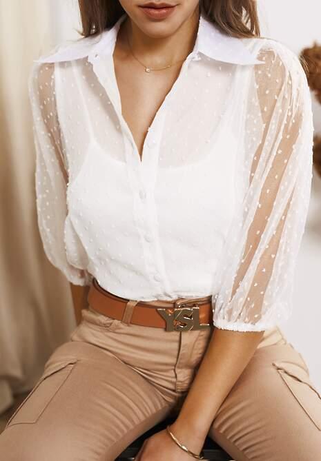 Biała Koszula Kier