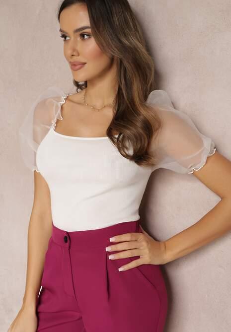 Biała Bluzka Avani