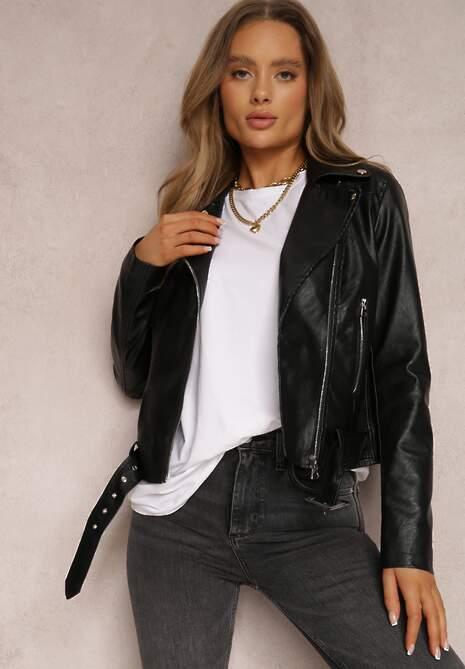 Czarna Ramoneska Sandoval