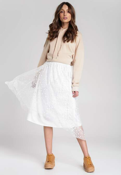 Biała Spódnica Olivine