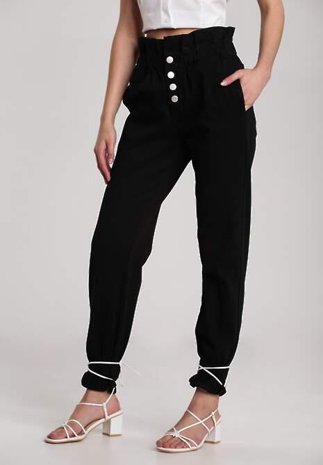 Czarne Spodnie Clementina
