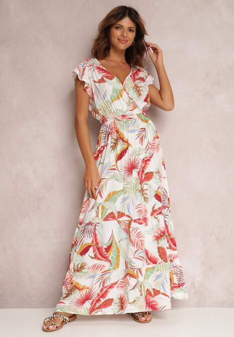 Biała Sukienka Zoerina