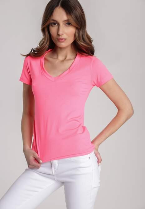 Koralowy T-shirt Dialee