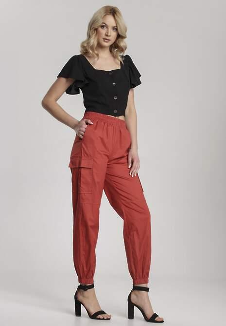 Czerwone Spodnie Halitina