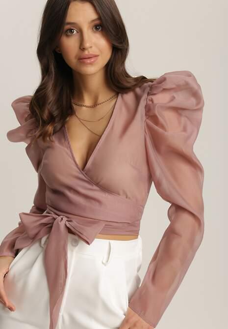 Różowa Bluzka Theriye