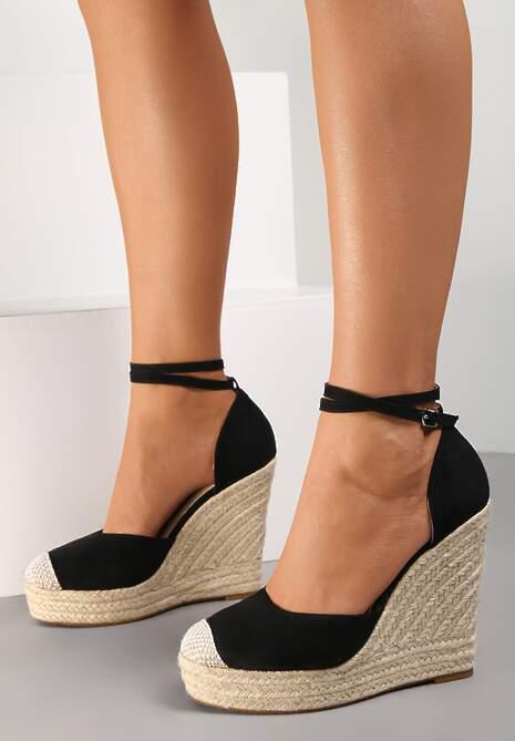 Czarne Sandały Lilopei