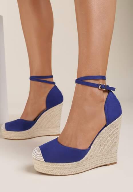 Niebieskie Sandały Lilopei