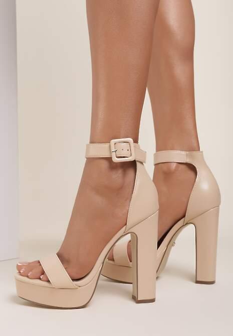 Beżowe Sandały Arrielyn