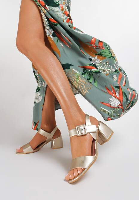 Złote Sandały Brirah
