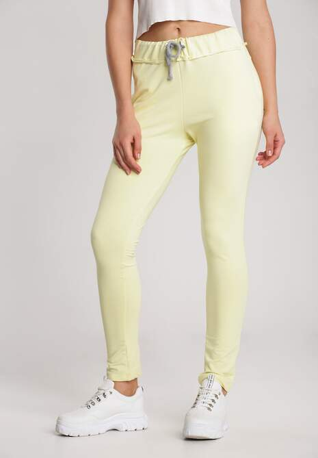 Żółte Spodnie Aqeanne