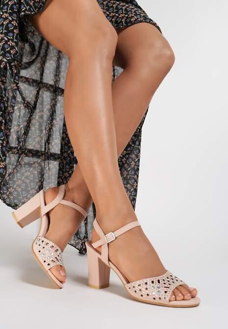 Różowe Sandały Morgawai