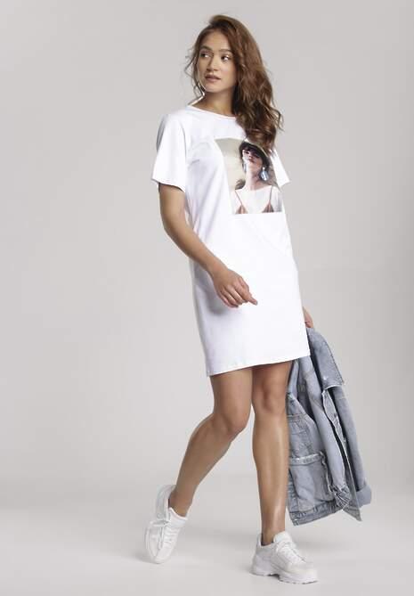 Biała Sukienka Hailiria
