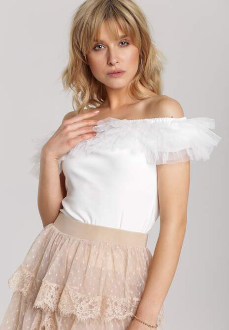 Biała Bluzka Aninore
