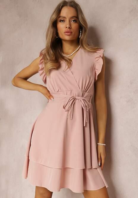 Ciemnoróżowa Sukienka Ivetta