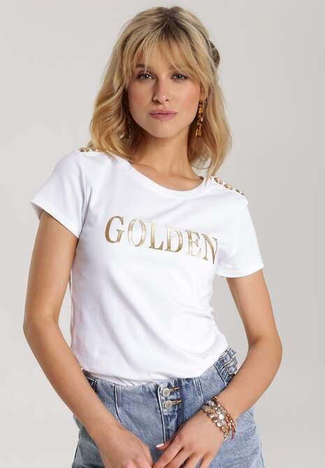 Biały T-shirt Elitai