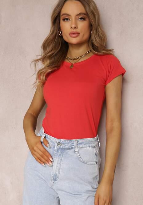 Czerwony T-shirt Alethosia
