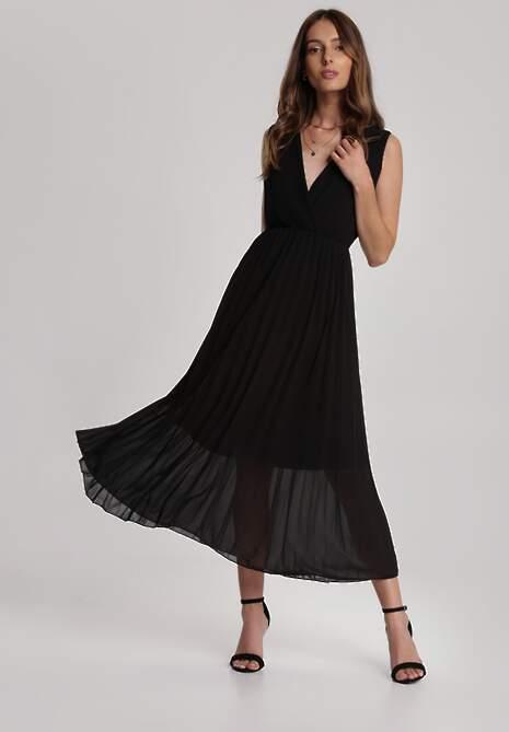 Czarna Sukienka Laolinai