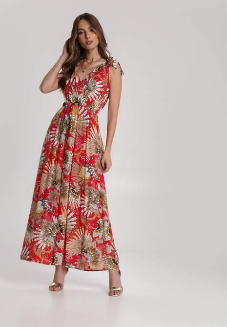 Czerwona Sukienka Sabrimia