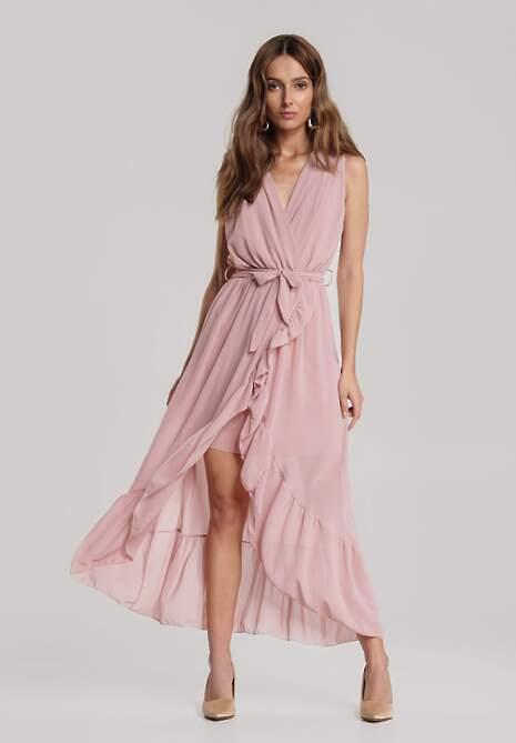 Ciemnoróżowa Sukienka Dorieneva