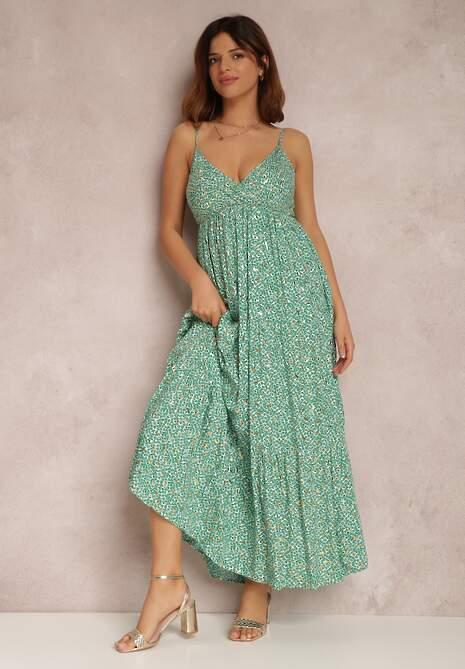 Zielona Sukienka Kallikaia