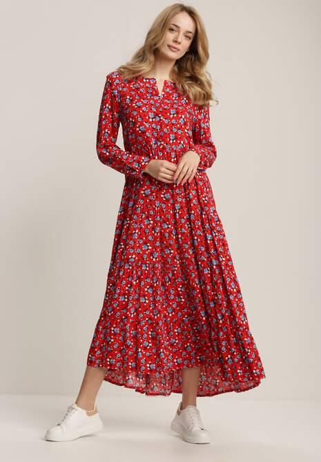 Czerwona Sukienka Ohirrya