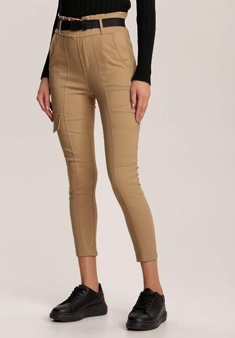 Beżowe Spodnie Vilinoth