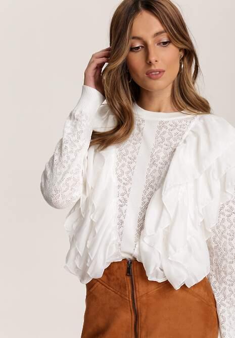 Biały Sweter Dhysola