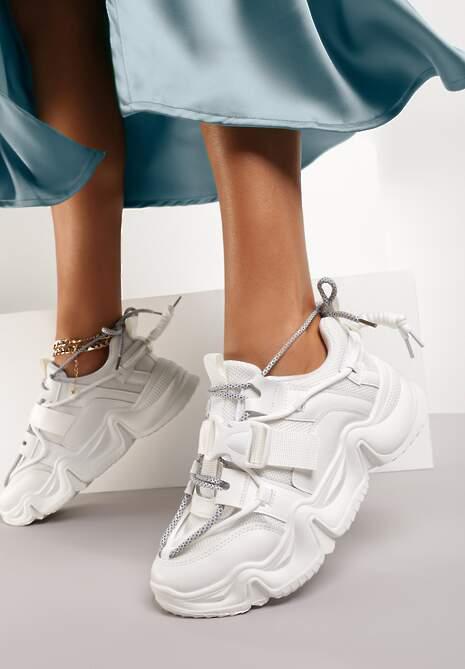 Białe Sneakersy Daisia