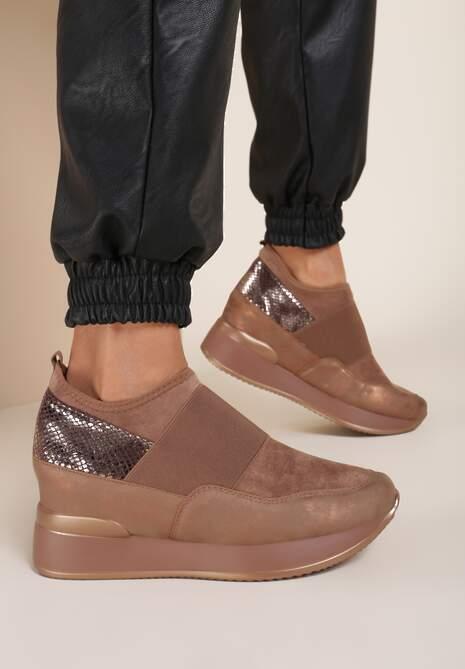 Khaki Sneakersy Eucrante