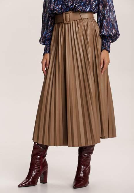 Ciemnobeżowa Spódnica Amphiro