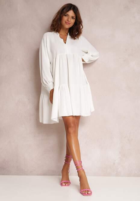 Biała Sukienka Xylney