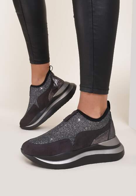 Szare Sneakersy Dhysrya