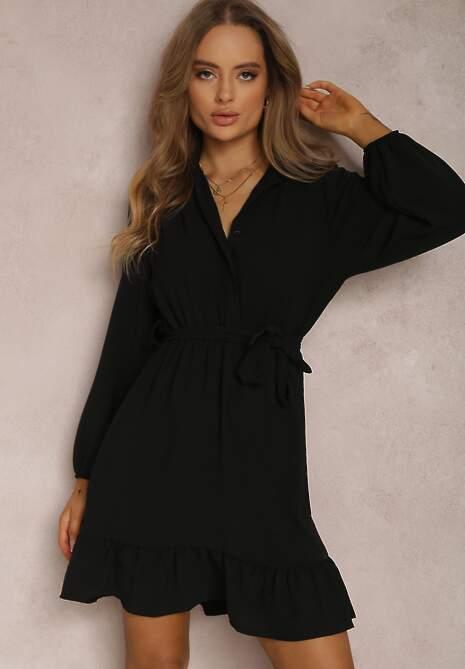 Czarna Sukienka Sarera