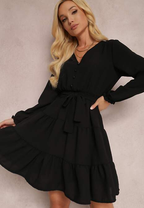 Czarna Sukienka Fyranne