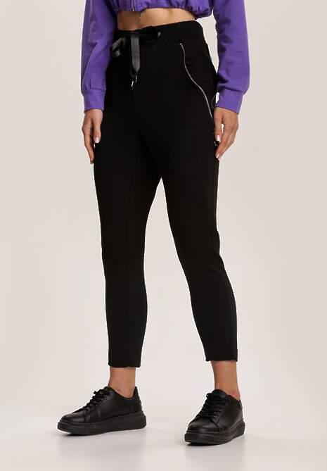 Czarne Spodnie Yseriesh