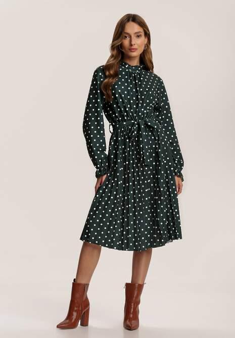 Zielona Sukienka Aeznila