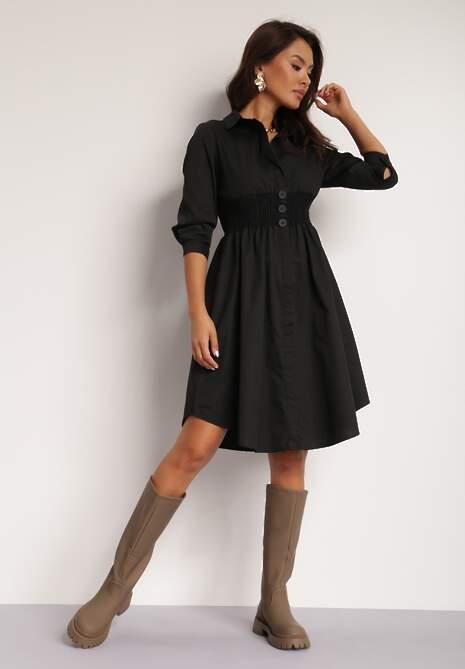 Czarna Sukienka Blueglory