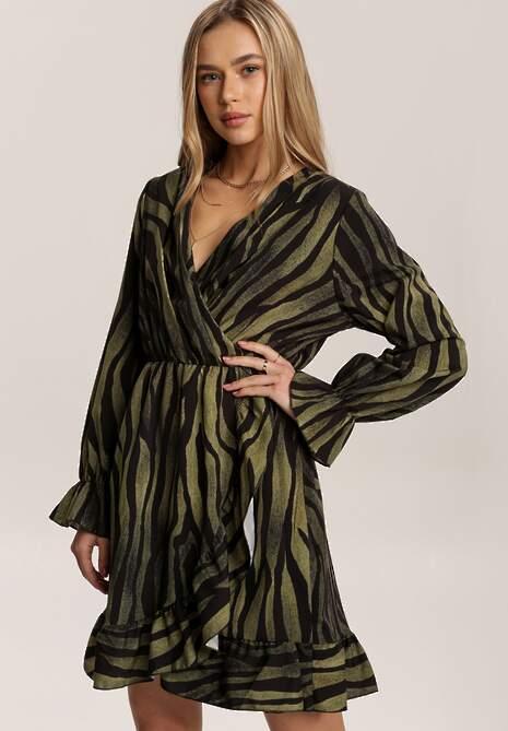Zielona Sukienka Dazzlethistle