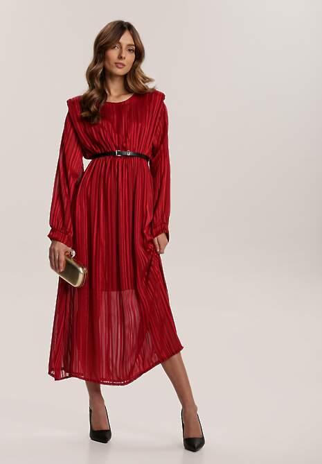 Czerwona Sukienka Nightvine