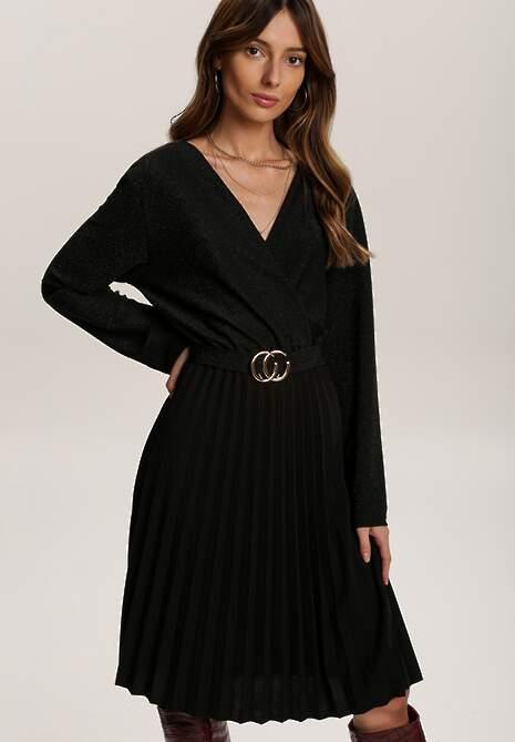Czarna Sukienka Virjeon
