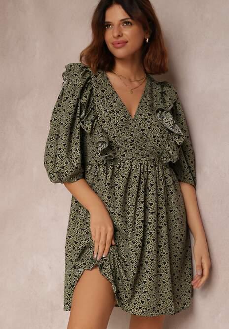Zielona Sukienka Nonamelle